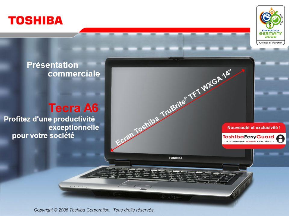 Ecran Toshiba TruBrite® TFT WXGA 14