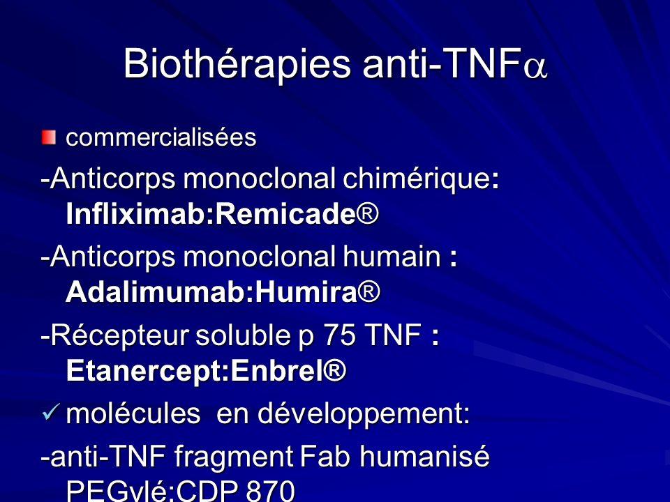 Biothérapies anti-TNF