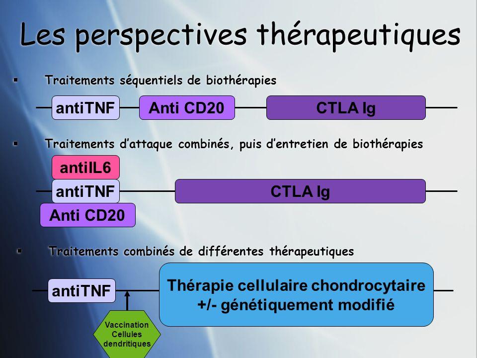 Les perspectives thérapeutiques