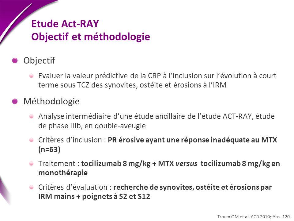 Etude Act-RAY Objectif et méthodologie