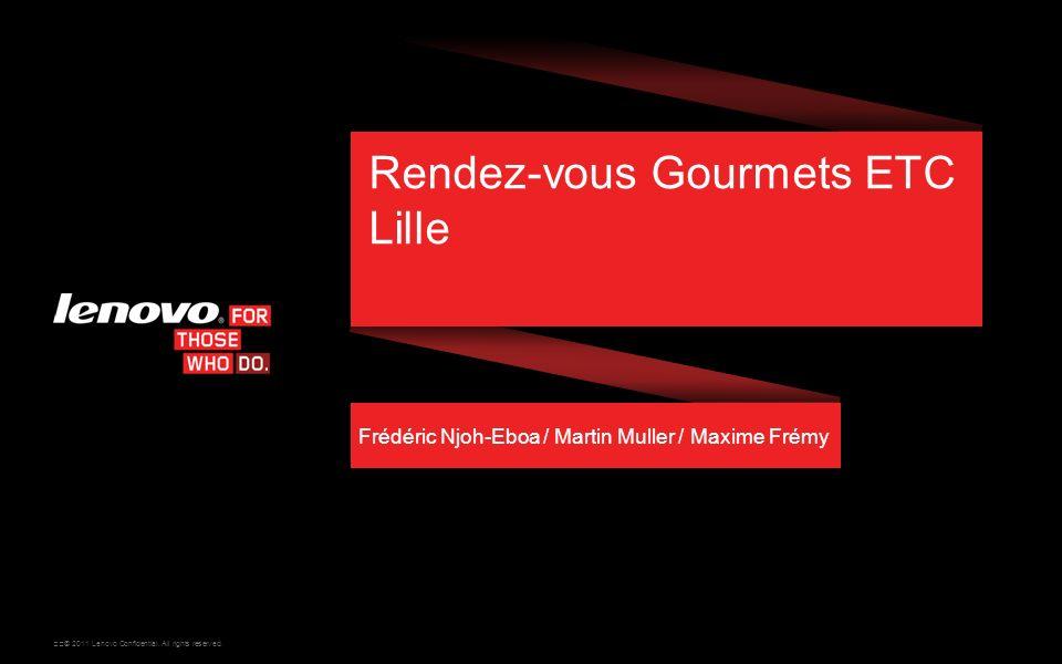 Rendez-vous Gourmets ETC Lille