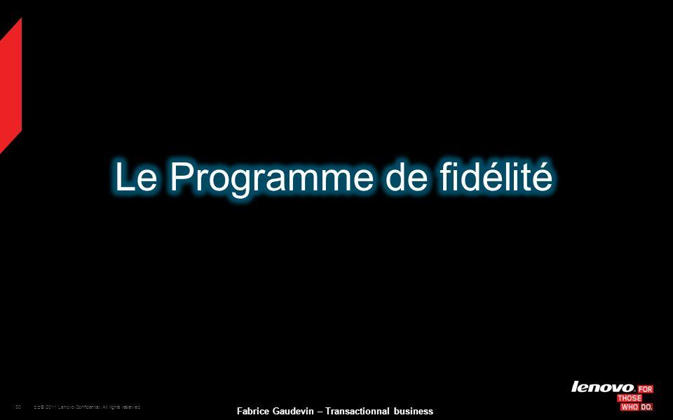 Le Programme de fidélité