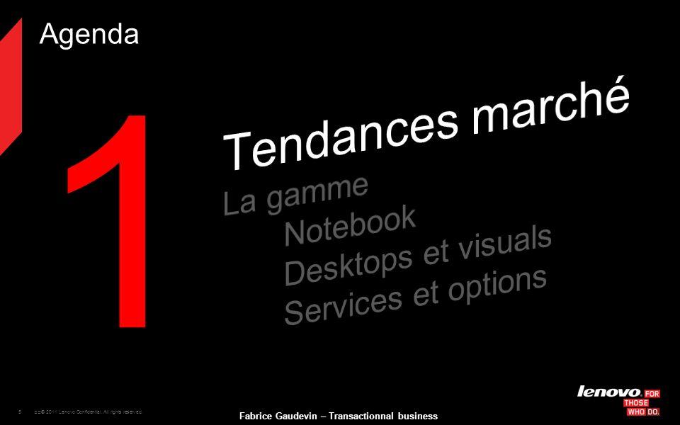 1 Tendances marché La gamme Notebook