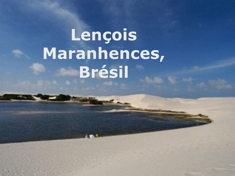 Lençois Maranhences, Brésil