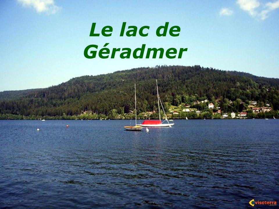 Le lac de Géradmer