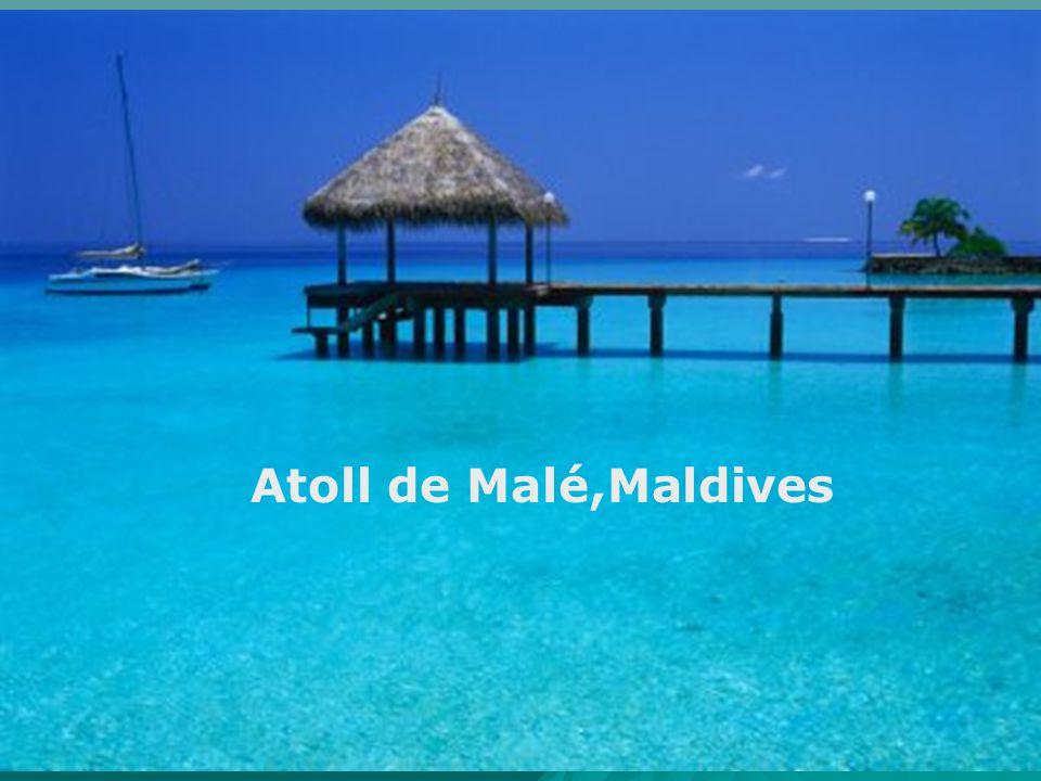 Atoll de Malé,Maldives