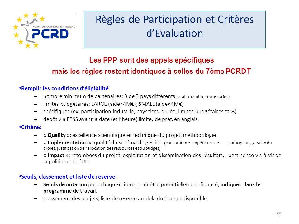Règles de Participation et Critères d'Evaluation