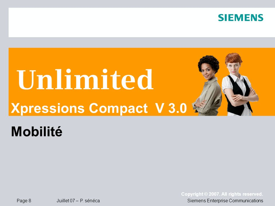 Xpressions Compact V 3.0 Mobilité