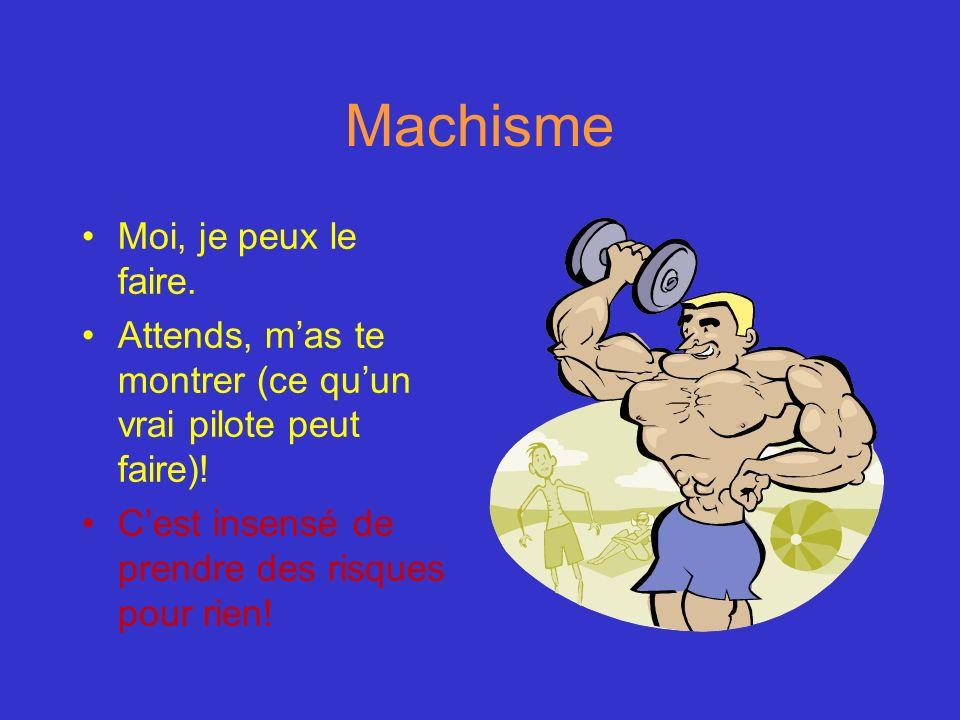 Machisme Moi, je peux le faire.
