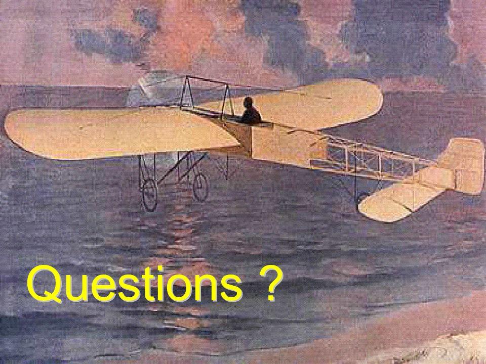 Les risques étaient beaucoup plus grand au début de l'aviation… et beaucoup plus de pilotes mourraient.