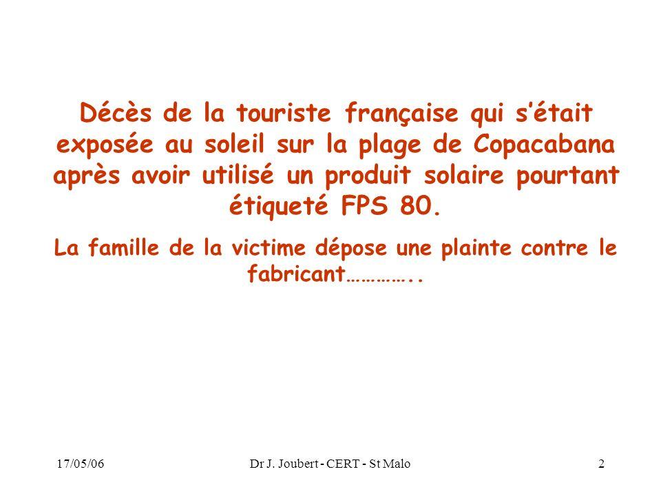 La famille de la victime dépose une plainte contre le fabricant…………..