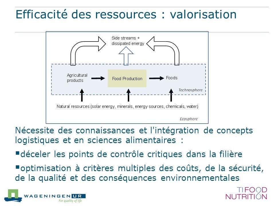 Efficacité des ressources : valorisation