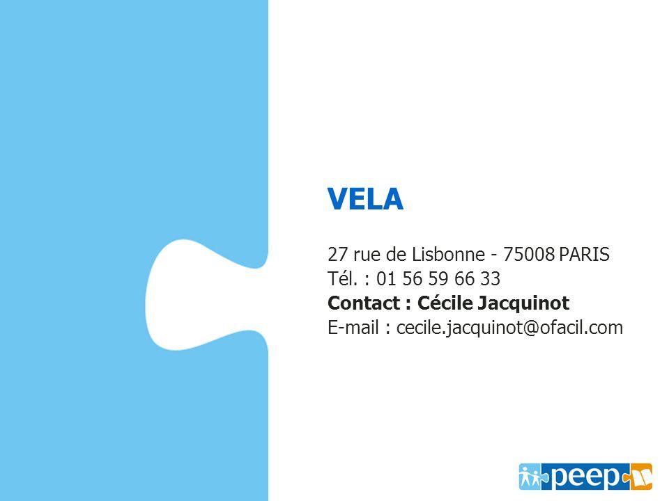VELA ww.capmonde.fr 27 rue de Lisbonne - 75008 PARIS