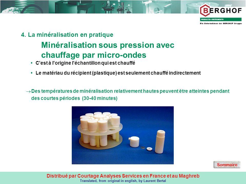 4. La minéralisation en pratique