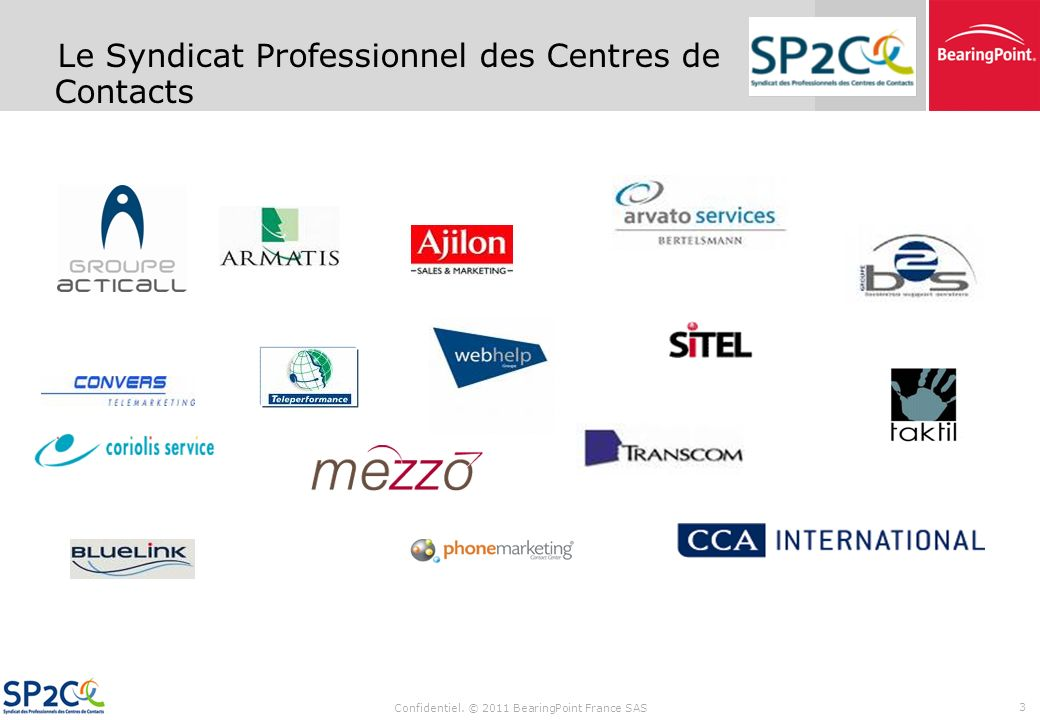 Le Syndicat Professionnel des Centres de Contacts