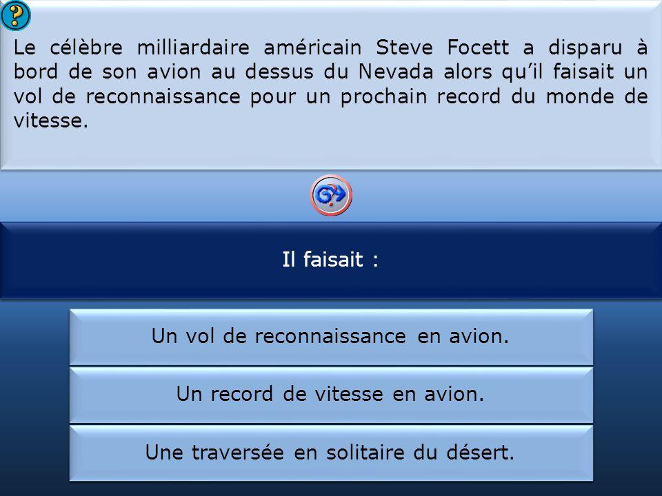 Steve Focett a disparu :