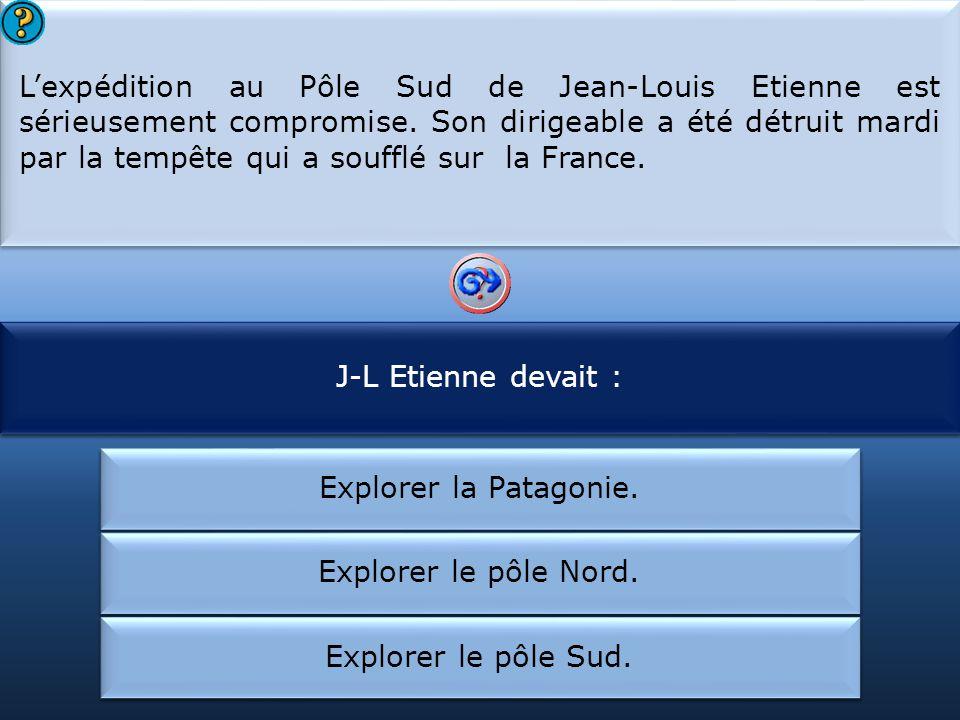 L'expédition de Jean-Louis Etienne est compromise :