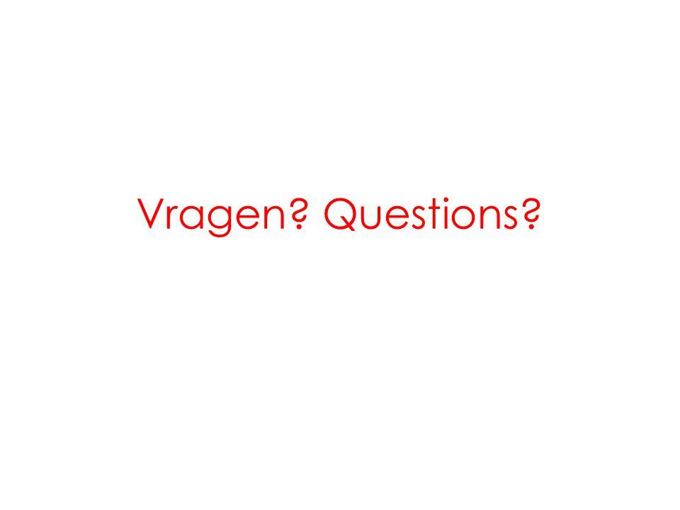 Vragen Questions