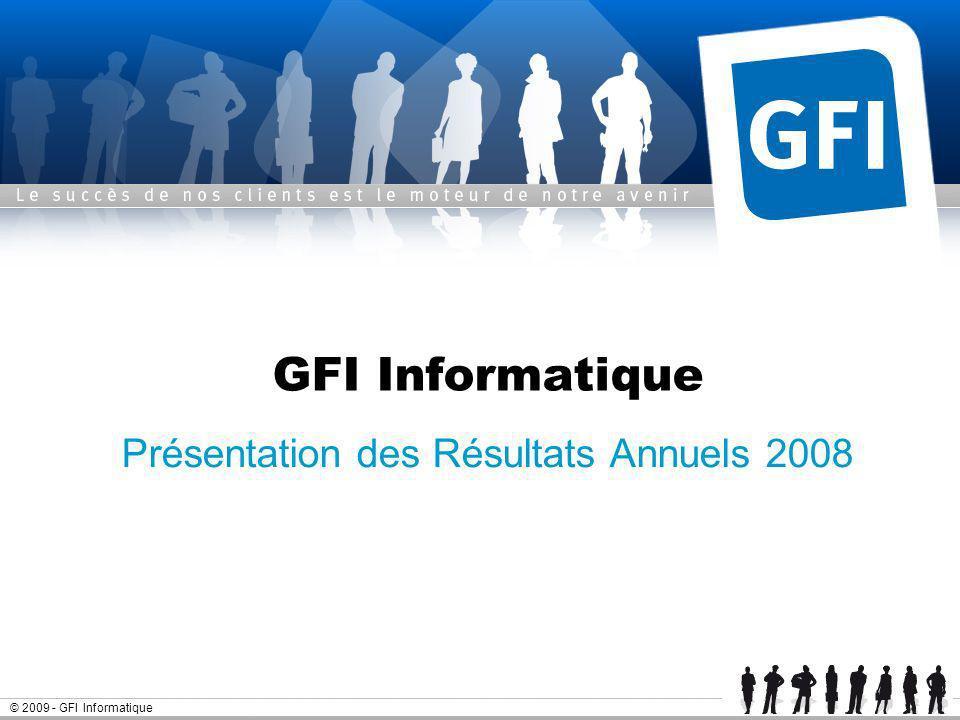 Présentation des Résultats Annuels 2008