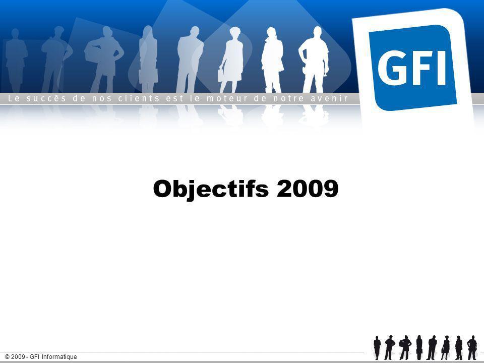 25 mars 2017 Objectifs 2009 © 2009 - GFI Informatique