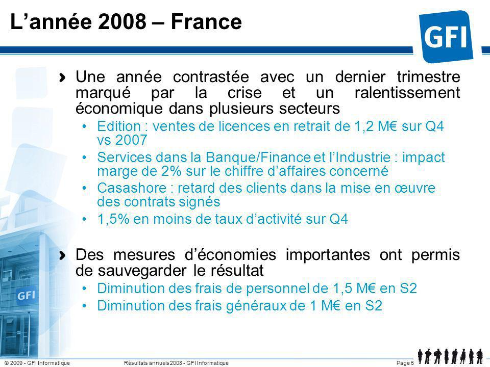 L'année 2008 – France 25 mars 2017.