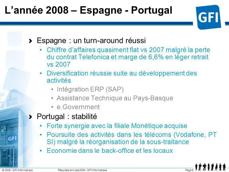 L'année 2008 – Espagne - Portugal