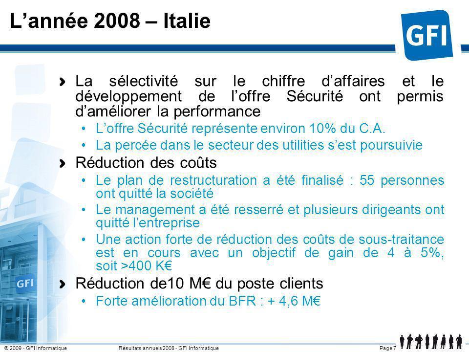 L'année 2008 – Italie25 mars 2017.