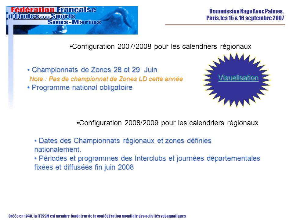 Configuration 2007/2008 pour les calendriers régionaux