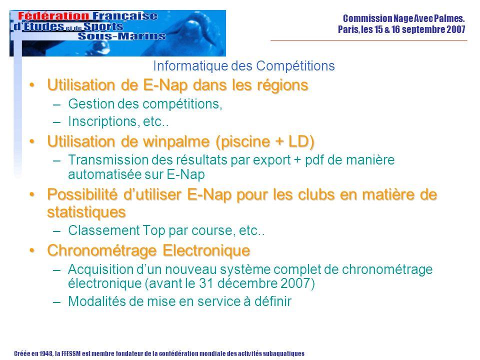 Informatique des Compétitions