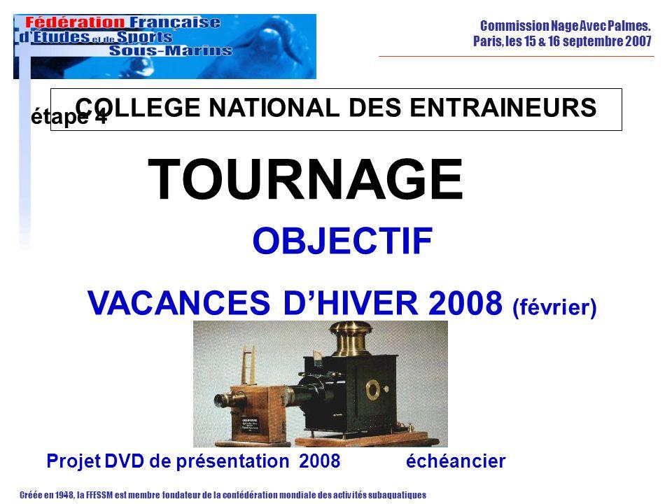 COLLEGE NATIONAL DES ENTRAINEURS VACANCES D'HIVER 2008 (février)