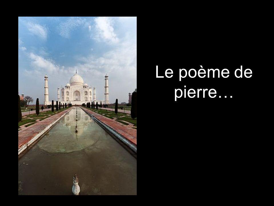 Le poème de pierre…