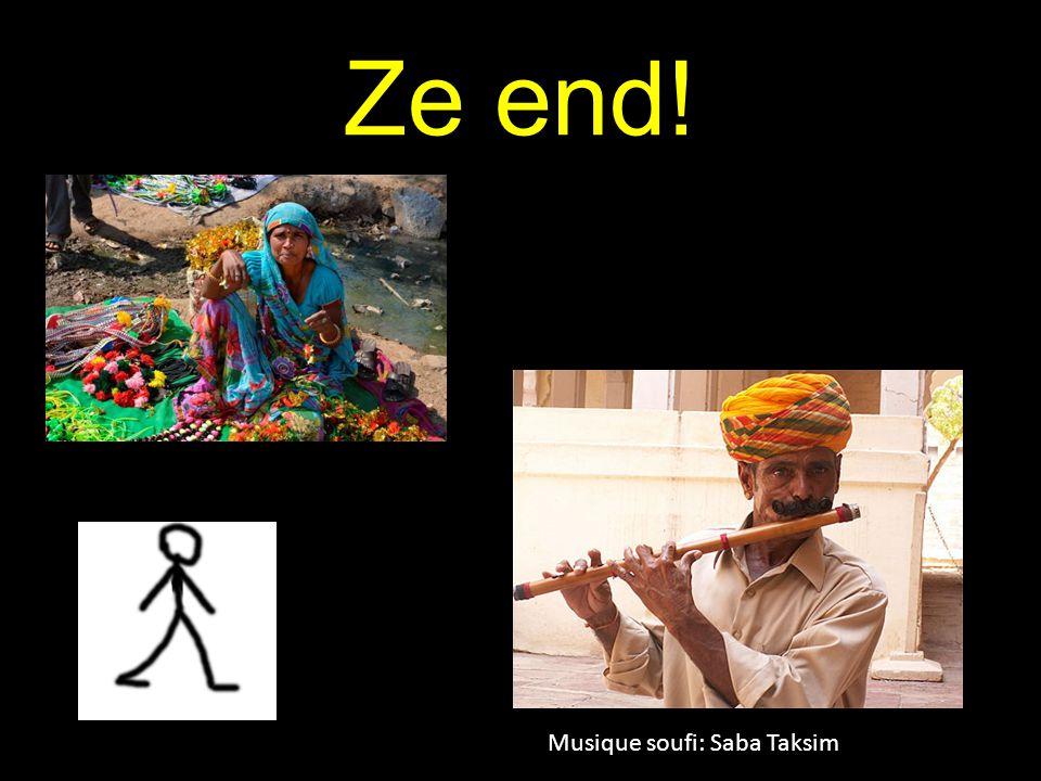 Ze end! Musique soufi: Saba Taksim