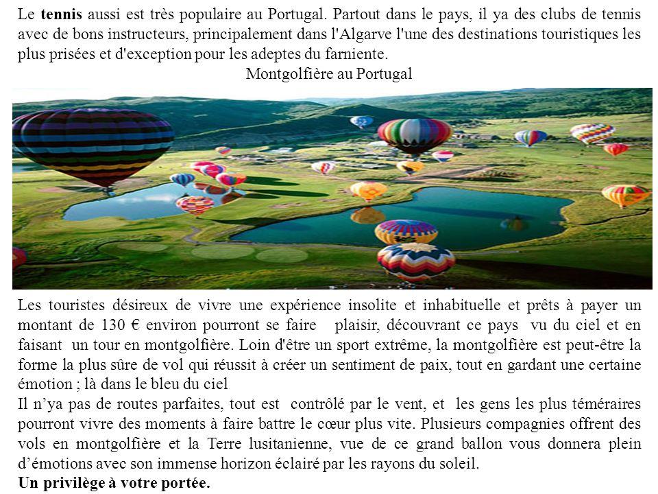 Montgolfière au Portugal