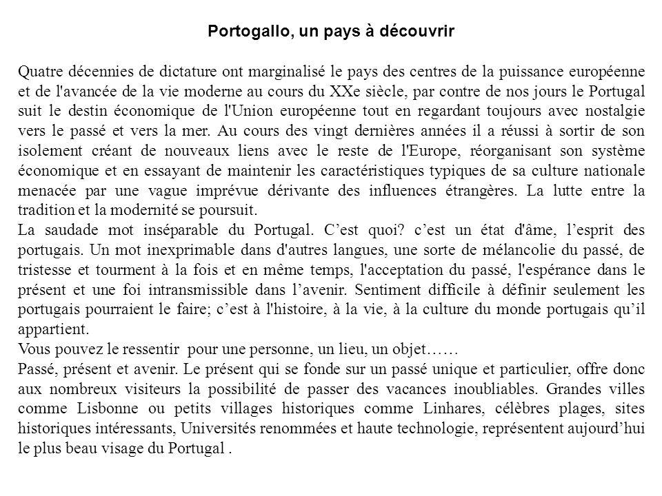 Portogallo, un pays à découvrir