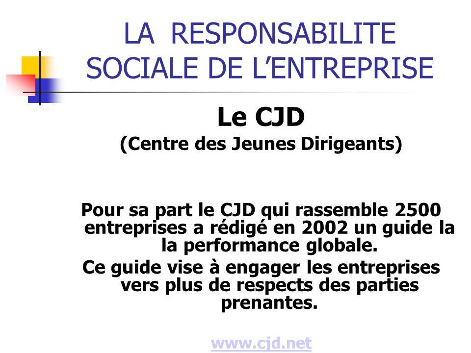 (Centre des Jeunes Dirigeants)