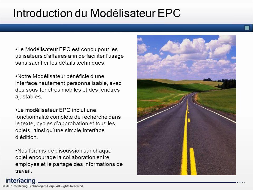 Introduction du Modélisateur EPC