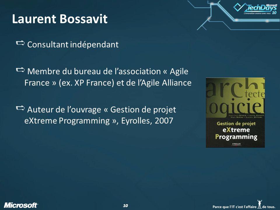 Laurent Bossavit Consultant indépendant