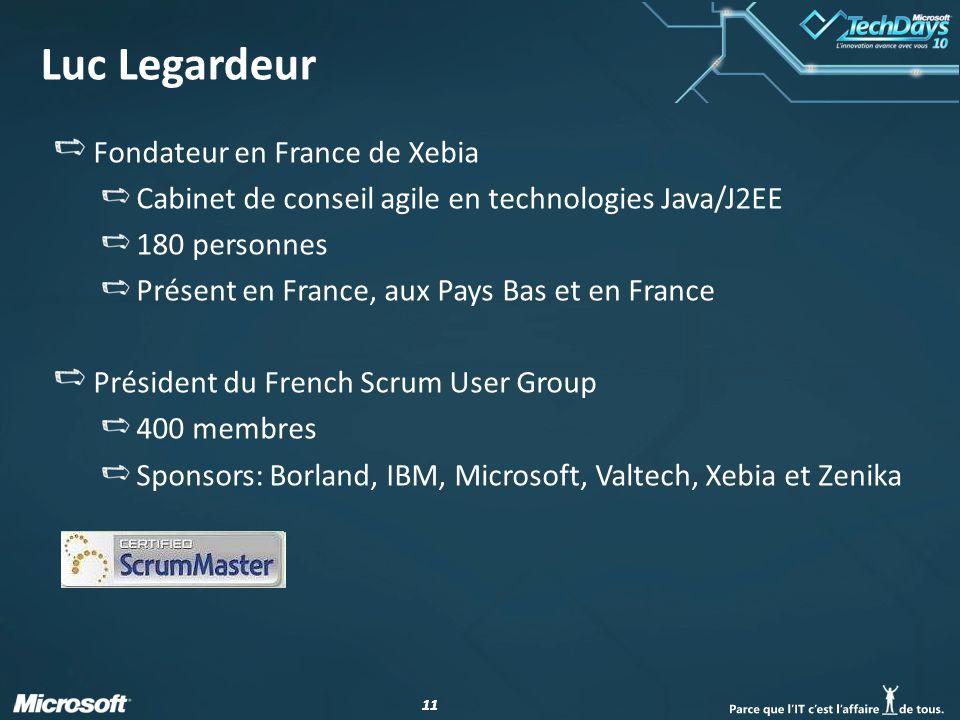 Luc Legardeur Fondateur en France de Xebia