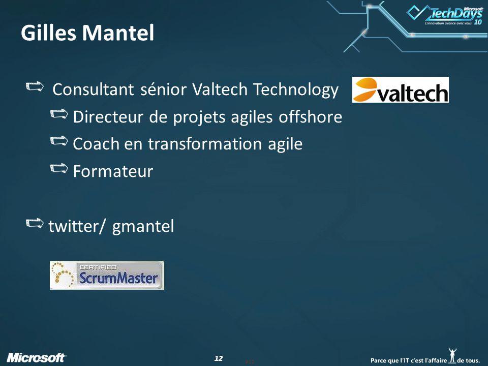 Gilles Mantel Consultant sénior Valtech Technology