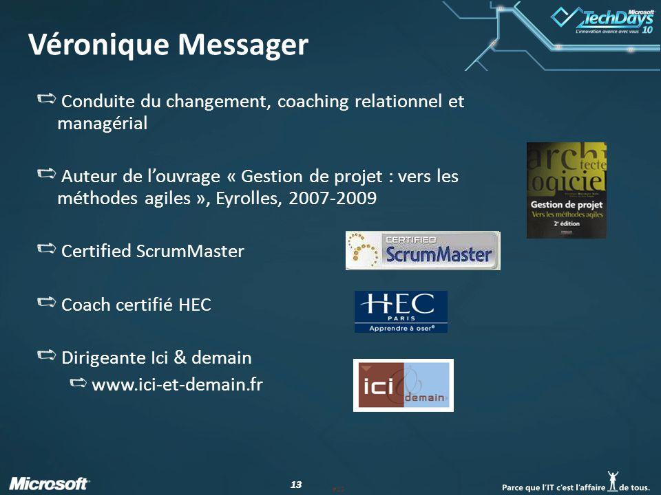 Véronique Messager Conduite du changement, coaching relationnel et managérial.