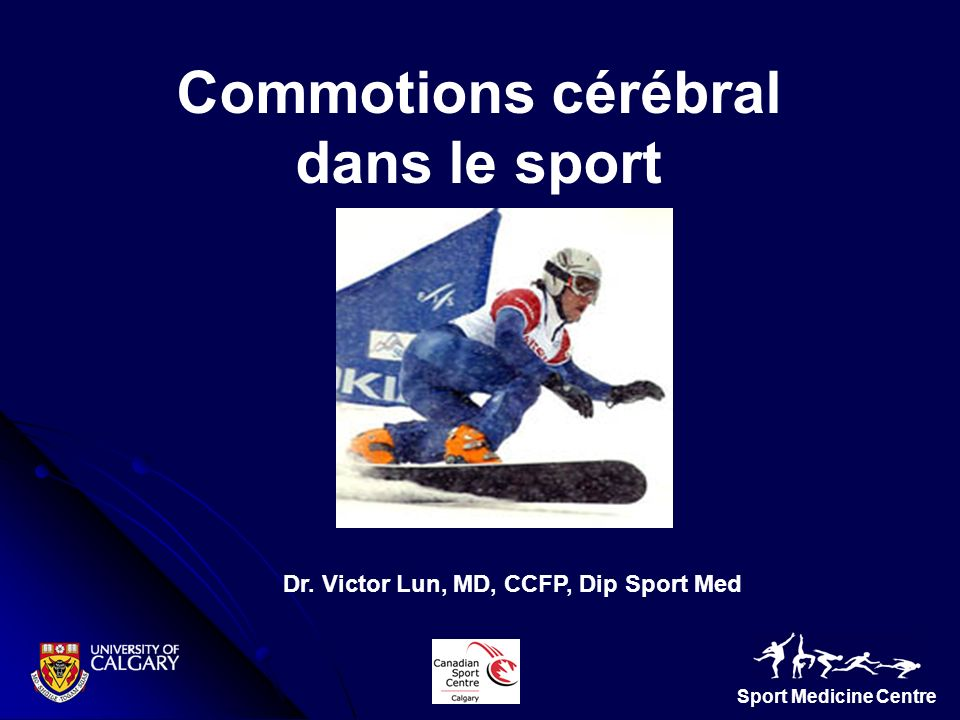 Dr. Victor Lun, MD, CCFP, Dip Sport Med