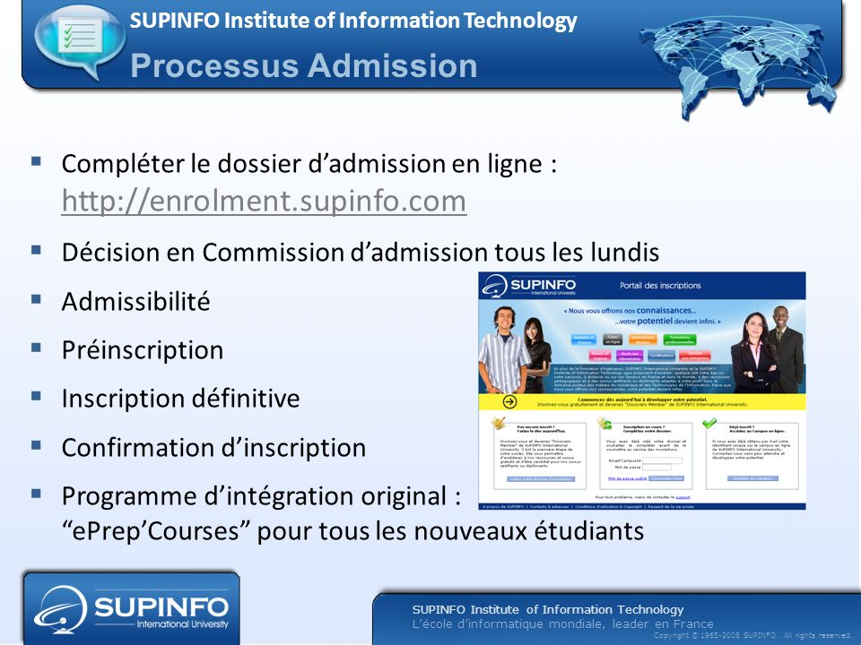 SUPINFO Institute of Information Technology