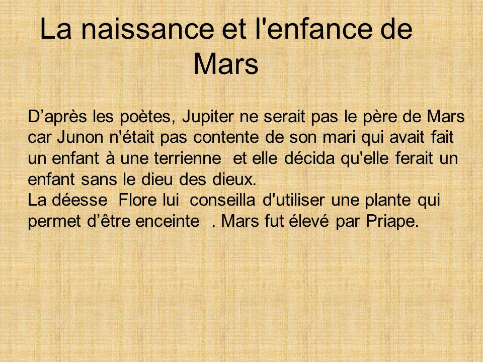 La naissance et l enfance de Mars