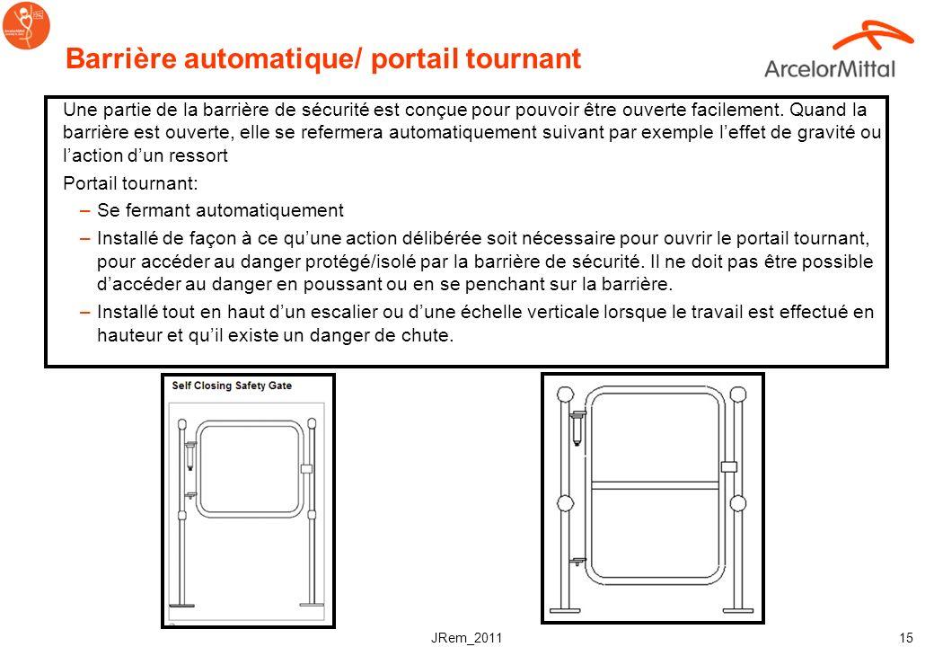 Barrière automatique/ portail tournant