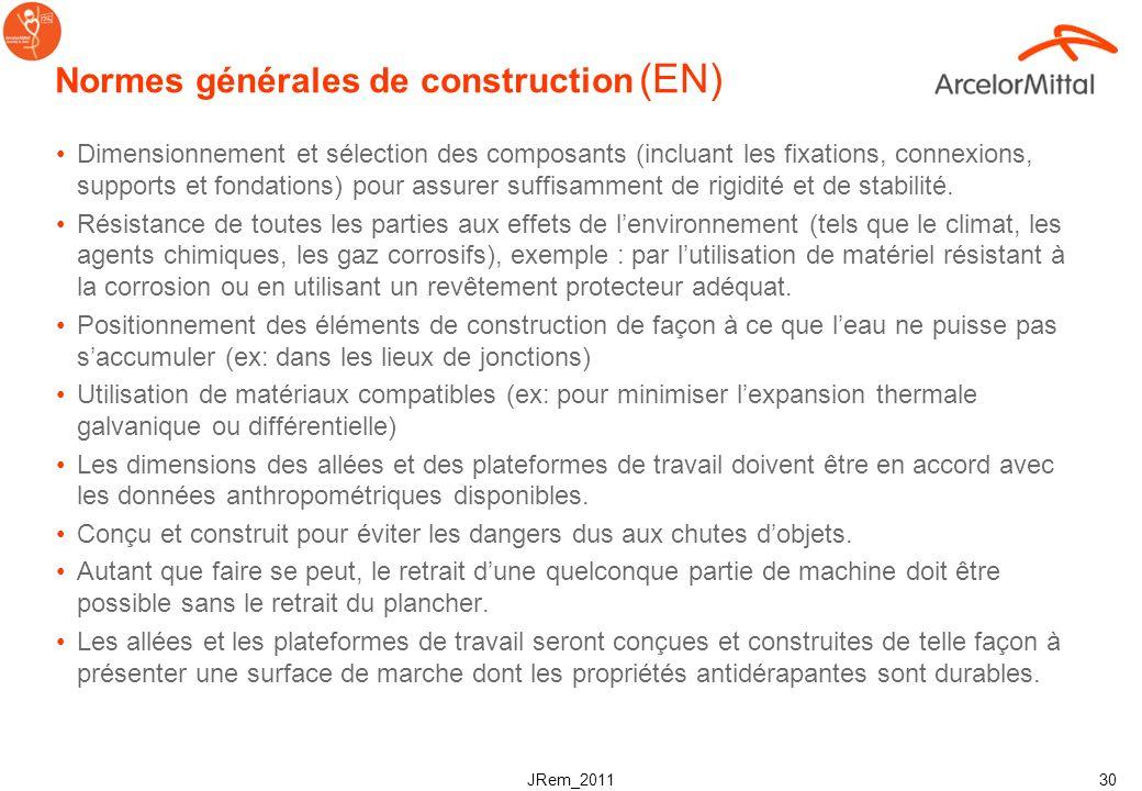 Normes générales de construction (EN)