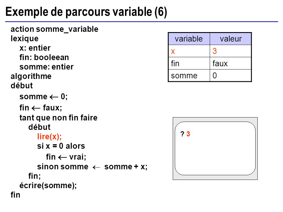 Exemple de parcours variable (6)