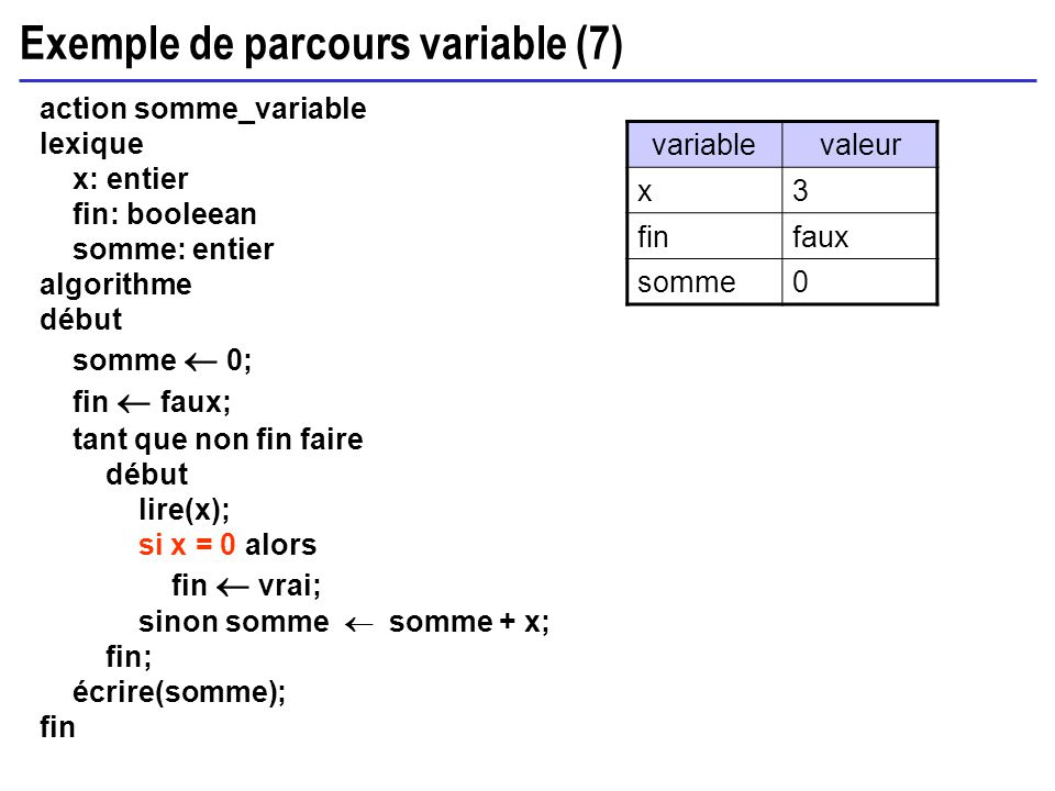 Exemple de parcours variable (7)