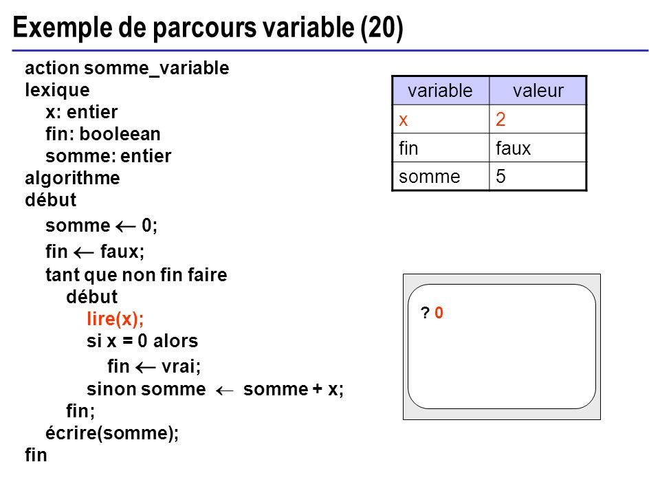 Exemple de parcours variable (20)
