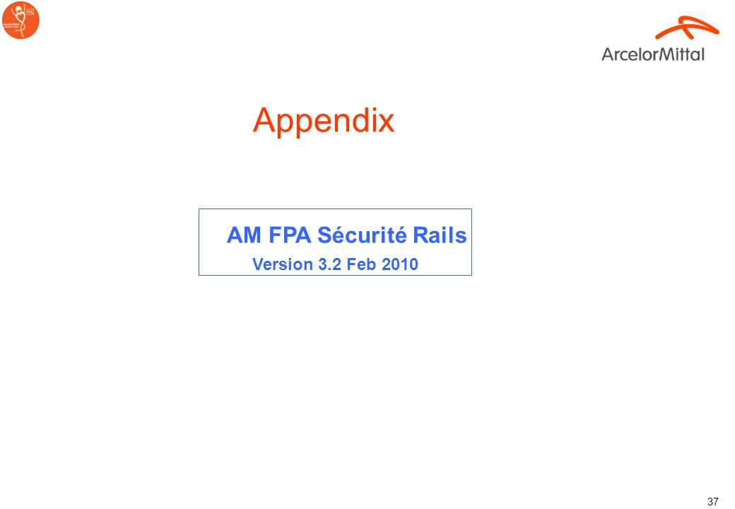 AM FPA Sécurité Rails Version 3.2 Feb 2010