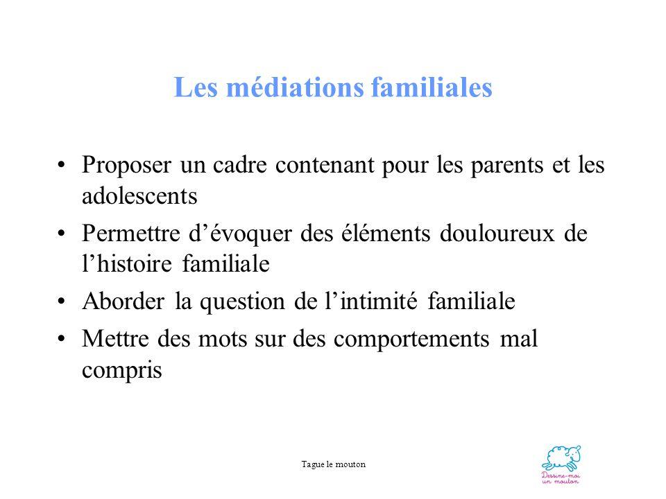 Les médiations familiales